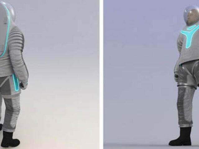 FOTOS: conozca el Z-2, el nuevo traje espacial futurista de la NASA