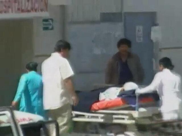Presunto sicario entra a hospital y balea a un hombre en Ayacucho