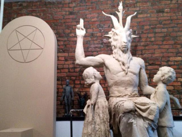 EEUU: buscan colocar una estatua del diablo en el Capitolio de Oklahoma