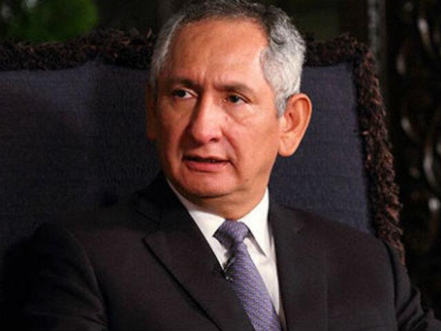 Ex primer ministro René Cornejo denunció hackeo de su correo personal