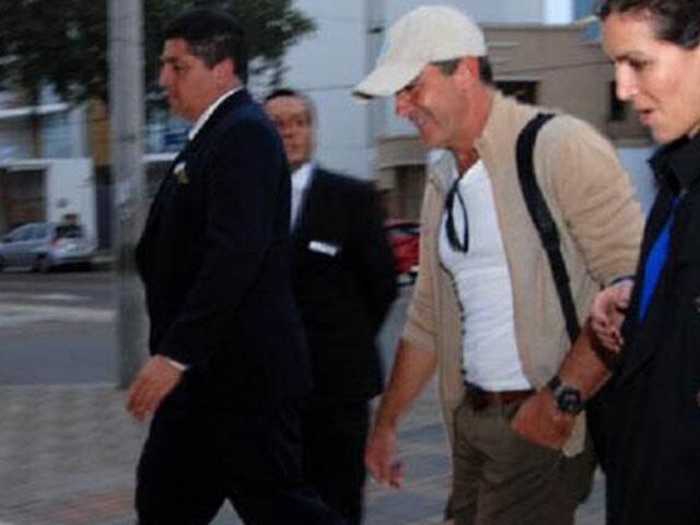 Actor Antonio Banderas llegó a Lima para participar en actividad benéfica