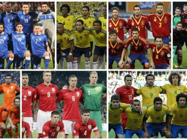 Brasil 2014: conoce las listas oficiales y preliminares de las selecciones
