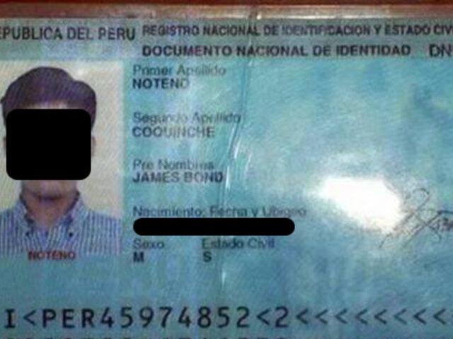 FOTOS: lista de los 14 nombres más insólitos del mundo lo lideran tres peruanos