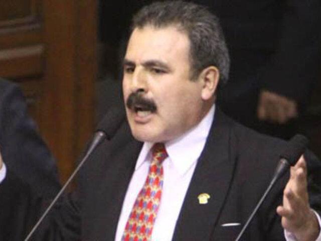 Congresista Jorge Rimarachín protagoniza fuerte altercado durante debate