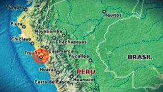 Esta madrugada se registraron dos sismos en Trujillo y Ayacucho