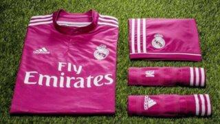 Camiseta rosada del Real Madrid causa sensación en España