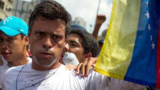 Justicia de Venezuela decide hoy si deja en libertad a opositor Leopoldo López