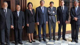 Juramentaron al cargo los seis nuevos magistrados del Tribunal Constitucional
