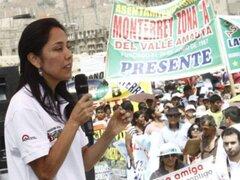 Piden a Nadine aclarar aporte de mineros informales a campaña de Humala