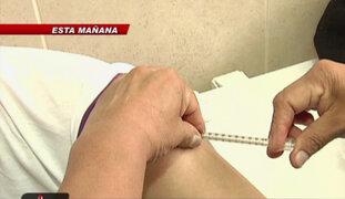 Inician campaña de vacunación contra la rubeola y sarampión por el Mundial