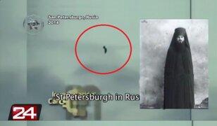 Figura humanoide en el cielo de San Petersburgo causa pánico en Rusia