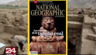 'National Geographic' dedica su portada a la Tumba Real de Huarmey