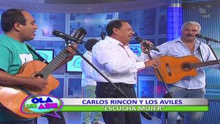 Carlos Rincón y Los Avilés hicieron bailar al público al ritmo del vals peruano