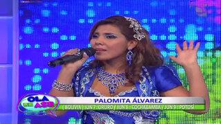 Palomita Álvarez interpretó su reciente sencillo 'Mi mala suerte'