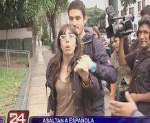 Asaltan a ciudadana española cuando salía de restaurante en Barranco