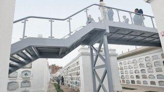 Metro de Lima defiende construcción de escalera en el Presbítero Maestro
