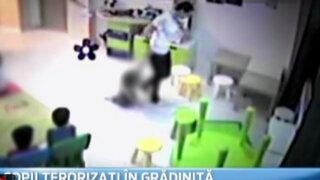 Video revela salvajes agresiones contra niños en guardería de Rumania