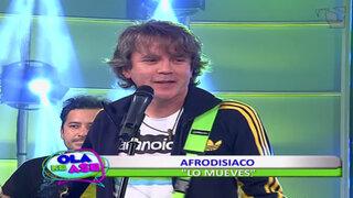 Afrodisiaco interpretó su reciente sencillo titulado 'Lo mueves'