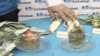 Essalud recomendó el uso de plantas medicinales a través de la Fitoterapia