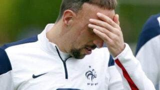 Jugador Franck Ribéry se perderá el Mundial Brasil 2014 por lesión