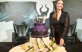 Angelina Jolie celebró su cumpleaños en China con torta de Maléfica