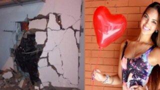 Natalie Vértiz: propietarios de edificio afectado por accidente asentaron denuncia