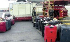 Mafia en aeropuerto cambiaba maletas con droga y las enviaba a México