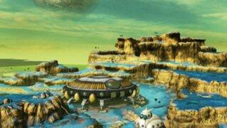 Imágenes muestran cómo sería el planeta 'Namekusei' del anime DBZ
