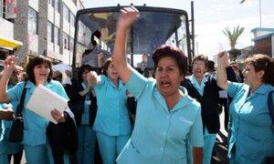 Enfermeras de EsSalud insisten en huelga nacional el próximo 10 de junio