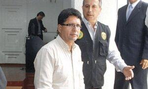 Presidente regional de Pasco Klever Meléndez ya está en penal Castro Castro