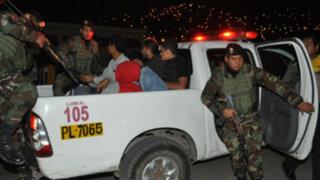 PNP detuvo a 22 personas en intenso operativo por varias zonas de Lima