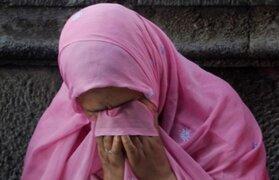 India: violan y queman viva a mujer discapacitada