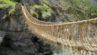 Unesco: reconocen puente Q'eswachaka como patrimonio de la humanidad