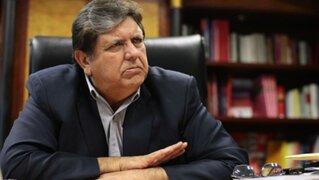 Alan García critica resultado de la licitación del Gasoducto Sur Peruano