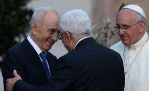 Papa Francisco logró que líderes de Israel y Palestina oren por la paz