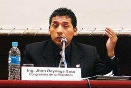 Comisión de Ética abrió investigación al parlamentario Jhon Reynaga
