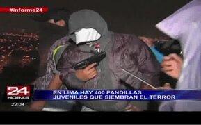 Informe Especial: 400 pandillas juveniles siembran el terror en las calles de Lima