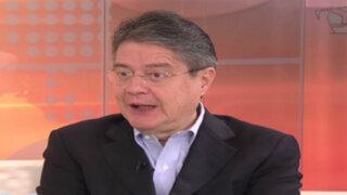 Opositor de Rafael Correa indicó que reelección altera la democracia