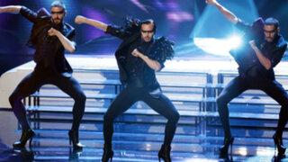 Hombres con zapatos de tacos volvieron a sorprender en Britain's Got Talent