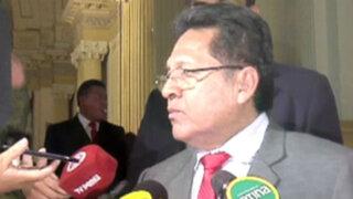 Fiscal de la Nación evitó hablar sobre investigación que abrirían en su contra