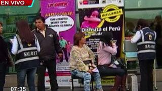 Viajeros a Brasil reciben vacunas contra sarampión y rubeola en aeropuerto