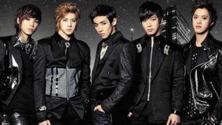 Grupo coreano MBLAQ llega a Lima para espectacular concierto en el Dibós