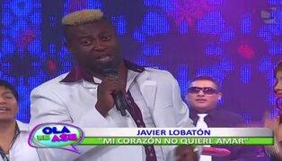 Javier Lobatón presenta su nuevo éxito 'Mi corazón no quiere amar'