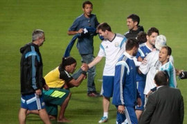 Conoce al 'falso' Ronaldihno que logró engañar y hacer reír a Messi