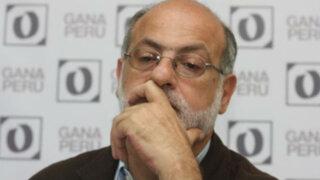"""Daniel Abugattás: """"He sido separado del Partido Nacionalista"""""""