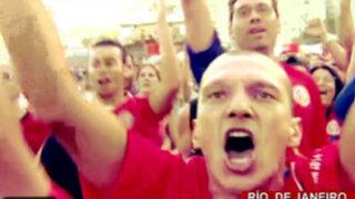 Costa Rica la gran sorpresa: hinchas 'ticos' festejaron triunfo frente a Uruguay