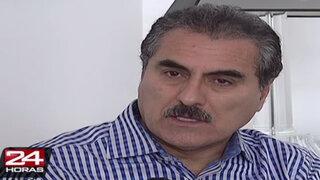 Julio Gagó: Suspensión no es una sanción ética, sino política