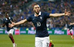 Brasil 2014: Francia derrotó 3-0 a Honduras con doblete de Karim Benzema