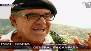 General en Campaña: Donayre y su candidatura a la región de Ayacucho