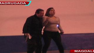 Mujeres causaron choque y robaron arma de policía en Magdalena